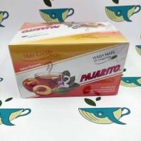 Йерба мате в пакетиках Pajarito персик