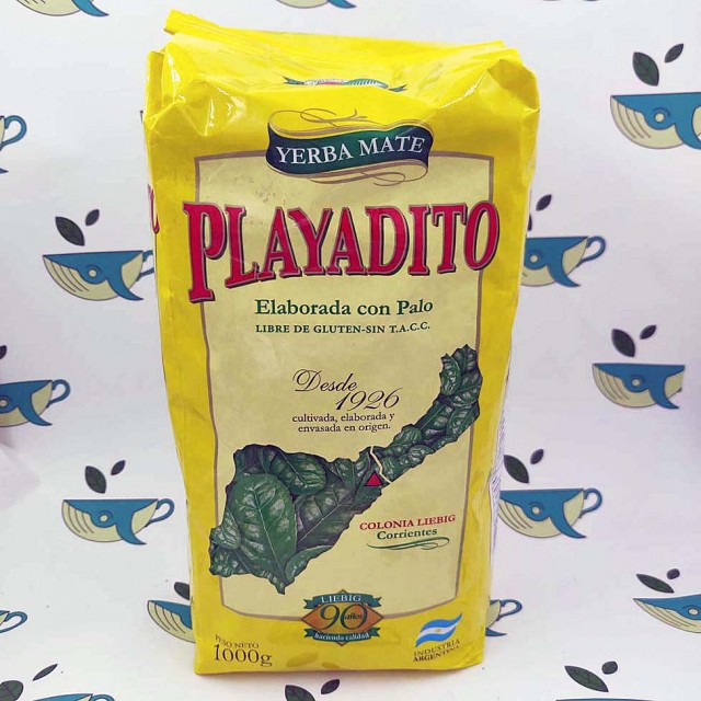 Йерба мате Playadito, 1000 грамм