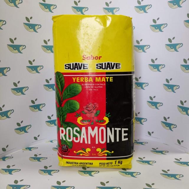 Йерба мате Rosamonte мягкий 1000 грамм
