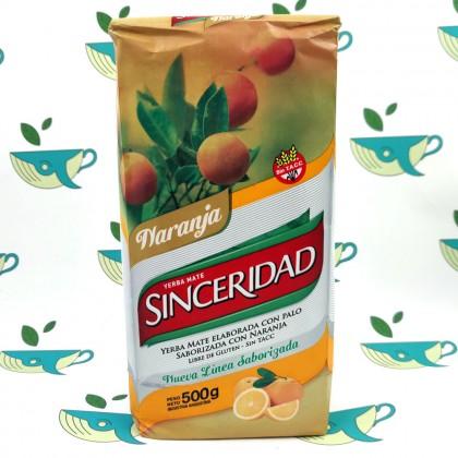Йерба мате Sinceridad апельсин 500 грамм