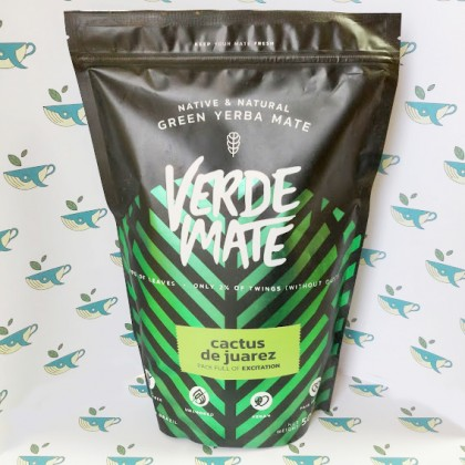 Йерба мате Verde Mate Green Cactus de Juarez 500 грамм