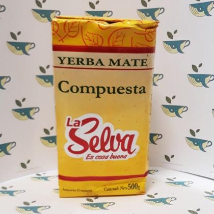 Йерба мате La Selva Compuesta 500 грамм