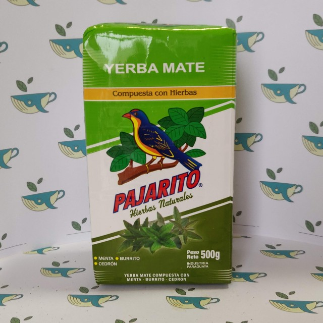 Йерба мате Pajarito ароматные травы 500 грамм